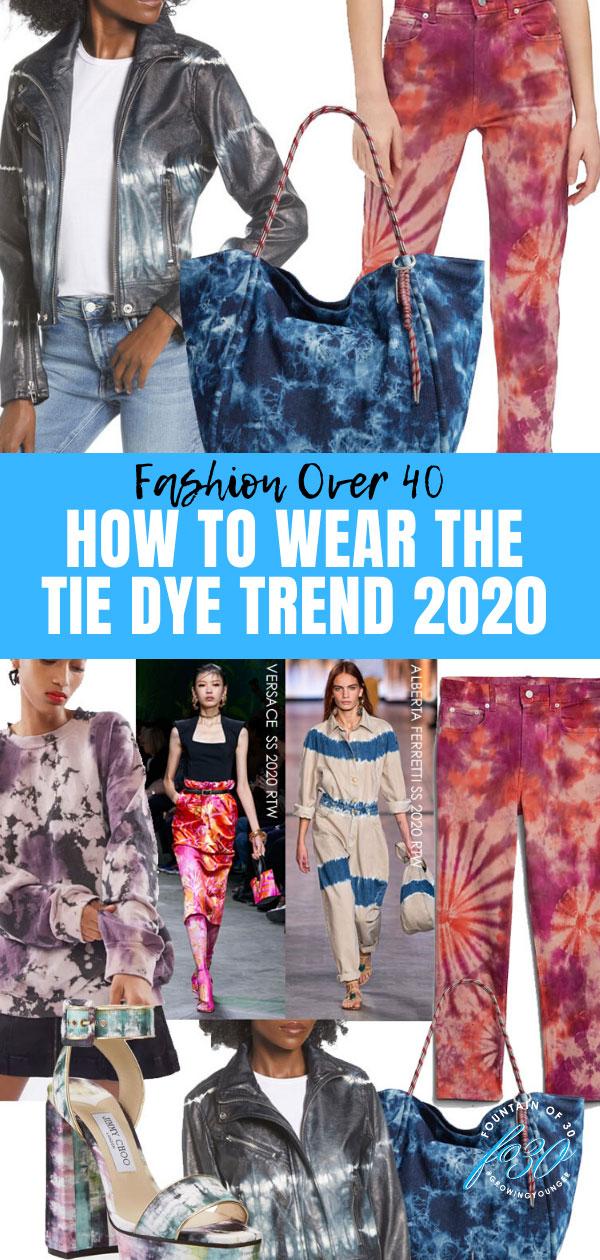 tie dye trend 2020 fountainof30