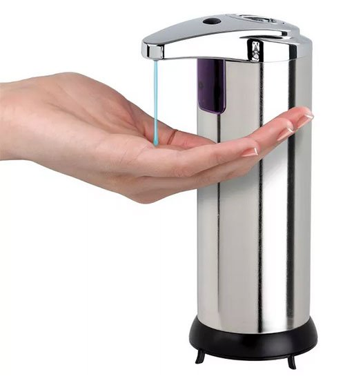 self-care home goods Touchless Dispenser stainless steel fountainof30