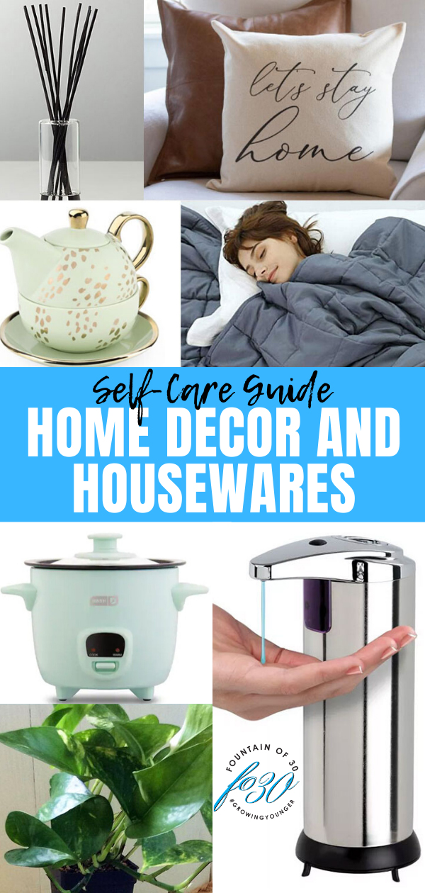 self-care guide home decor fountainof30