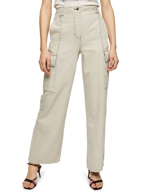 Wide Leg Cargo Trousers fountainof30
