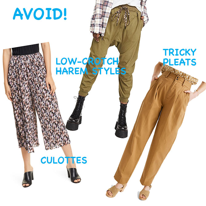 slouchy pants trend styles to avoid fountainof30