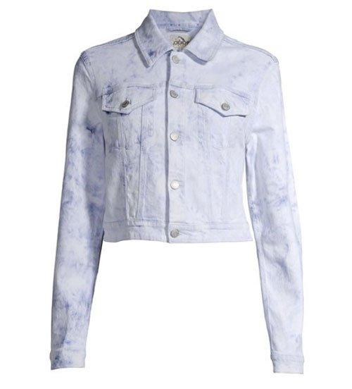 how to shop walmart tie dye jean jacker blue white