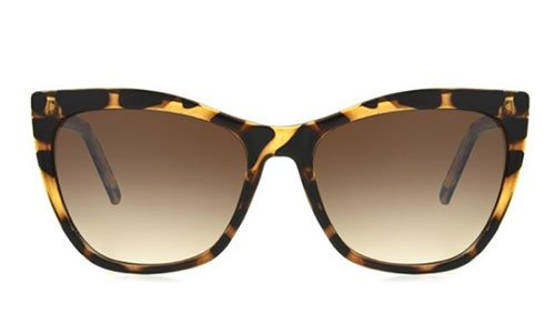 shop walmart designer fashion Sofia Vergara® x Foster Grant tortoise frames