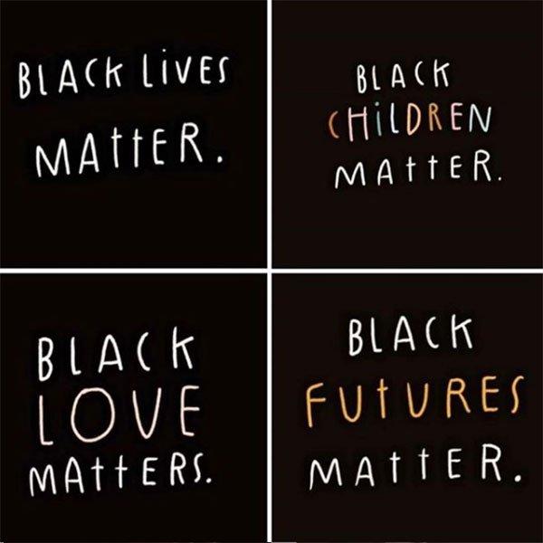 Billie Eilish black lives matter black children matter black love instagram message