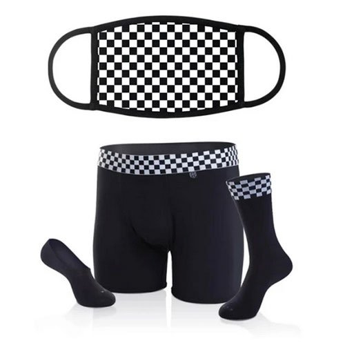 Fathers Day Gift Ideas 2020 Related Garments Bandit Mask & Underwear/Sock Bundle