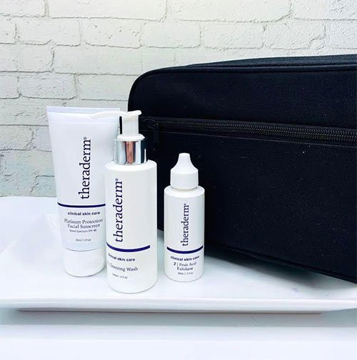 Fathers Day Gift Ideas 2020 Theraderm Father's Day Bundle (Cleanser, Fruit Acid, Sunscreen)
