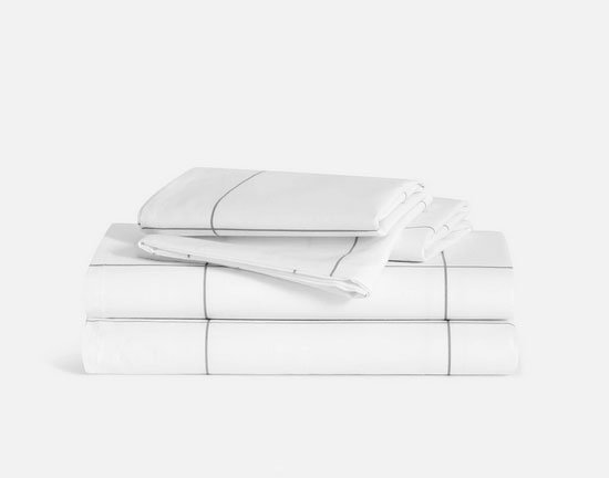 Brooklinen's classic percale hotel-style sheets fountainof30