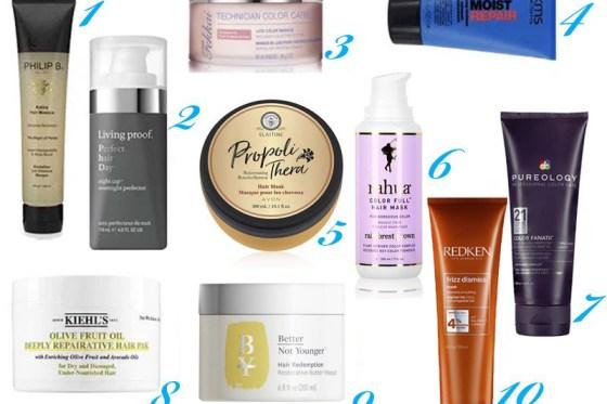 The Top 10 Hair Masks For Desperately Damaged Hair