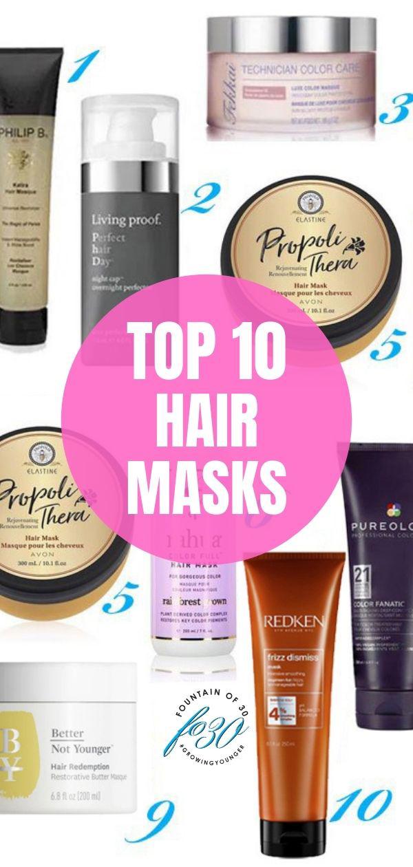 best hair masks fountainof30