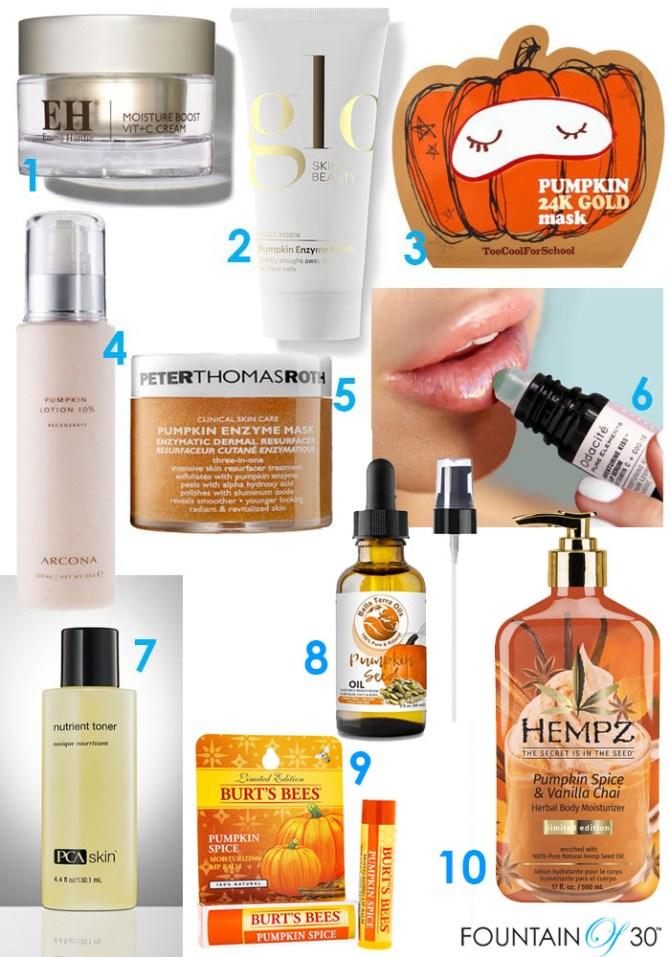 Anti-Aging Pumpkin Skincare fountainof30