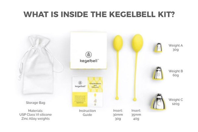 Kegelbell kit Healthy Aging Month Giveaways fountainof30