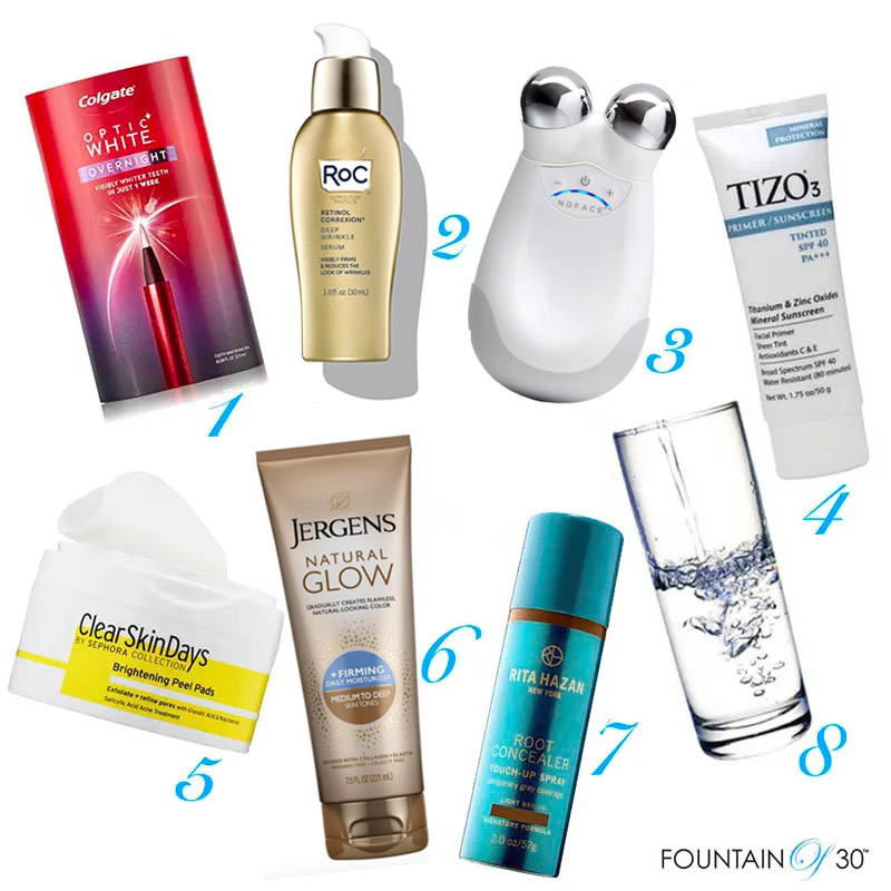 beauty musts for looking younger fountainof30
