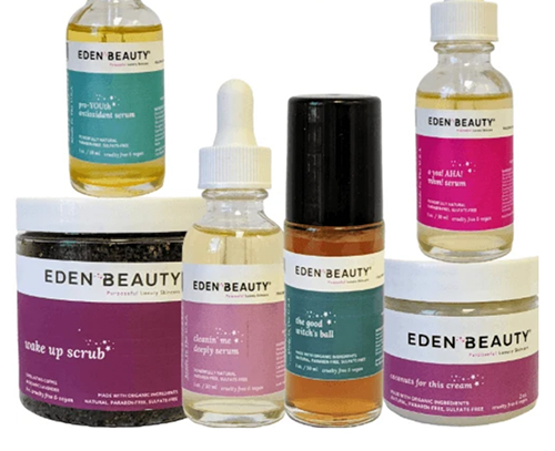 Eden Beauty Extra Strength Dark Spot System Healthy Aging Month Giveaways fountainof30