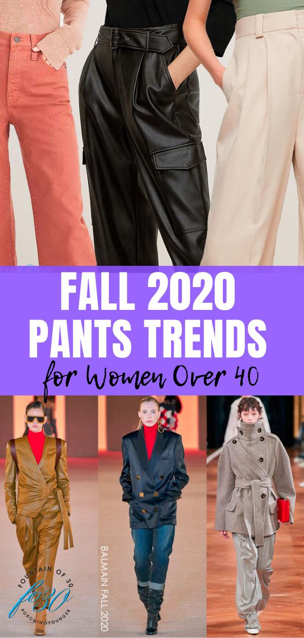 fall pants trends 2020 fountainof30