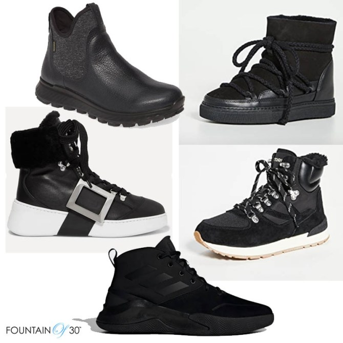 sneaker trends boots black fountainof30