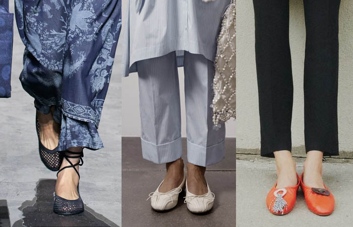 ballet flats spring fashion trends fountainof30