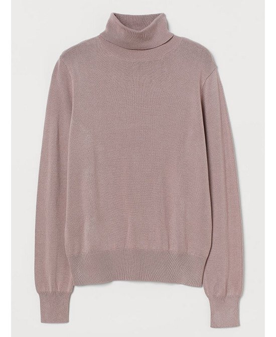 H&M Fine Knit Turtleneck Sweater fountainof30