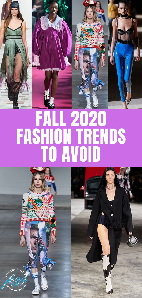 fall 2020 fashion trends to avoid fountainof30