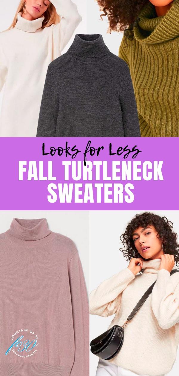 fall turtleneck sweaters fountainof30