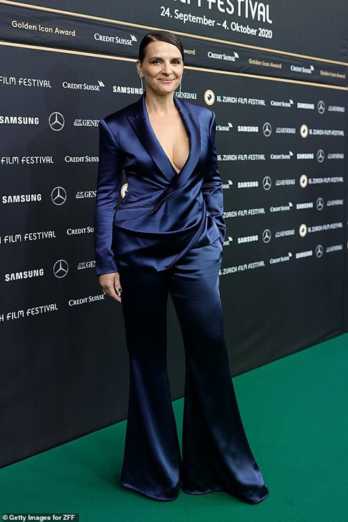 Juliette Binoche celebrity fashionistas over 40 and 50