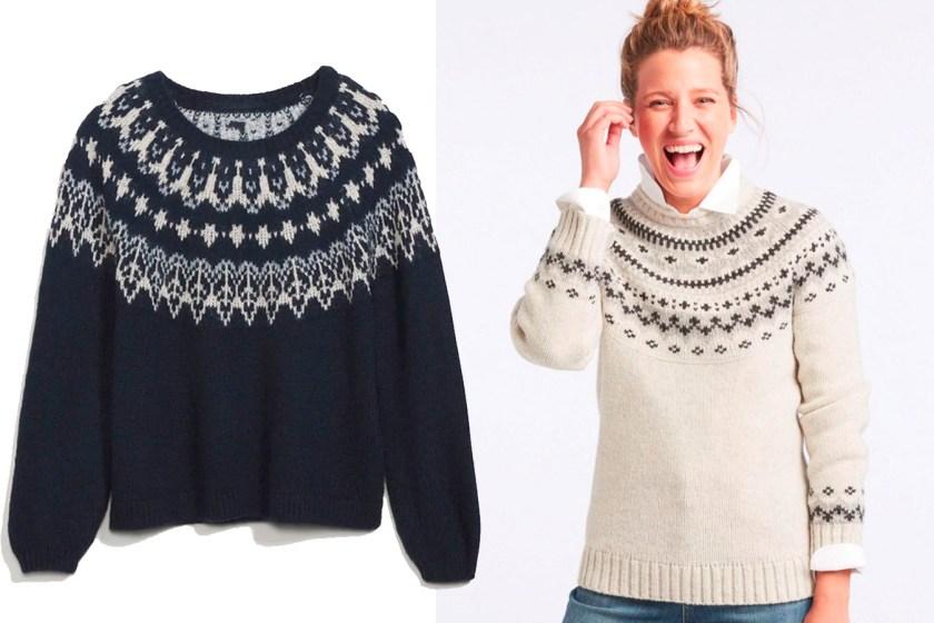 winter clothes fair isle sweaters fountainof30