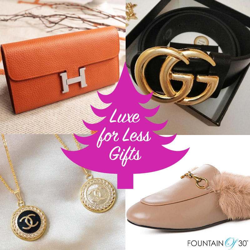 luxe for less holiday gifts fountainof30