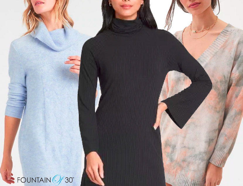 sweater dress for less fountainof30