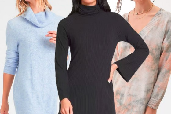 The Best Sweater Dresses of the Season for Under $80