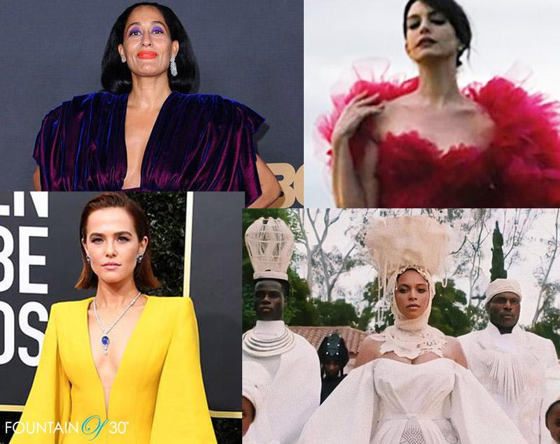 best dressed celebrities 2020 statement look fountainof30