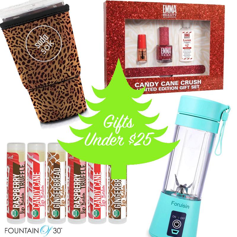 best gifts under 25 fountainof30
