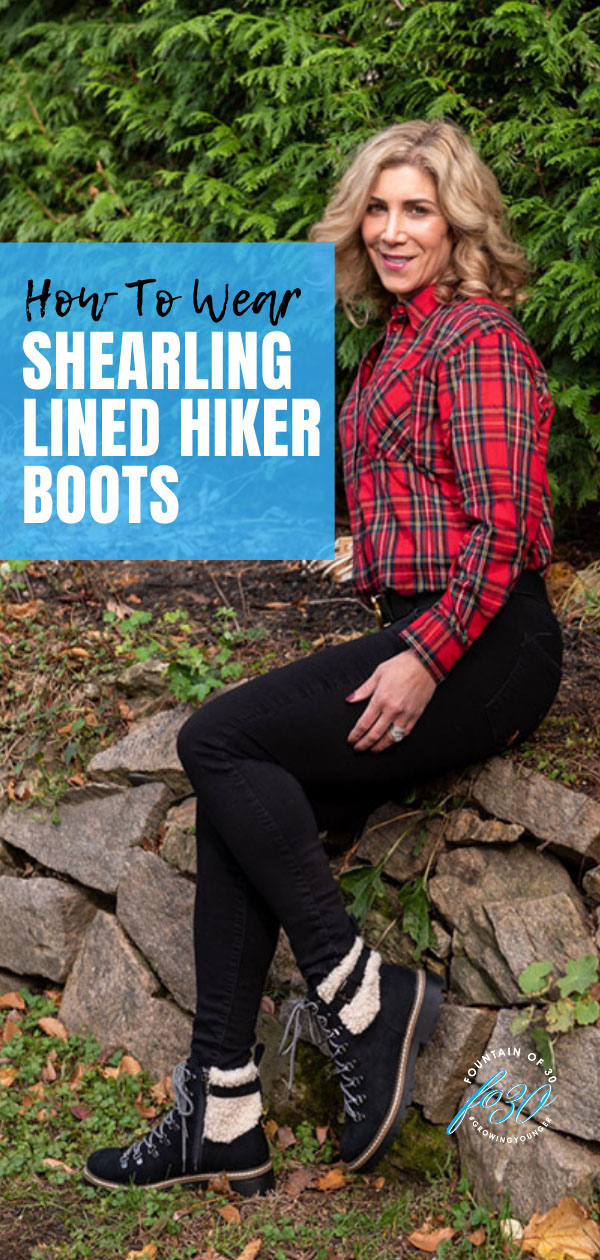 how to wear shearling lined hiker boots fountainof30