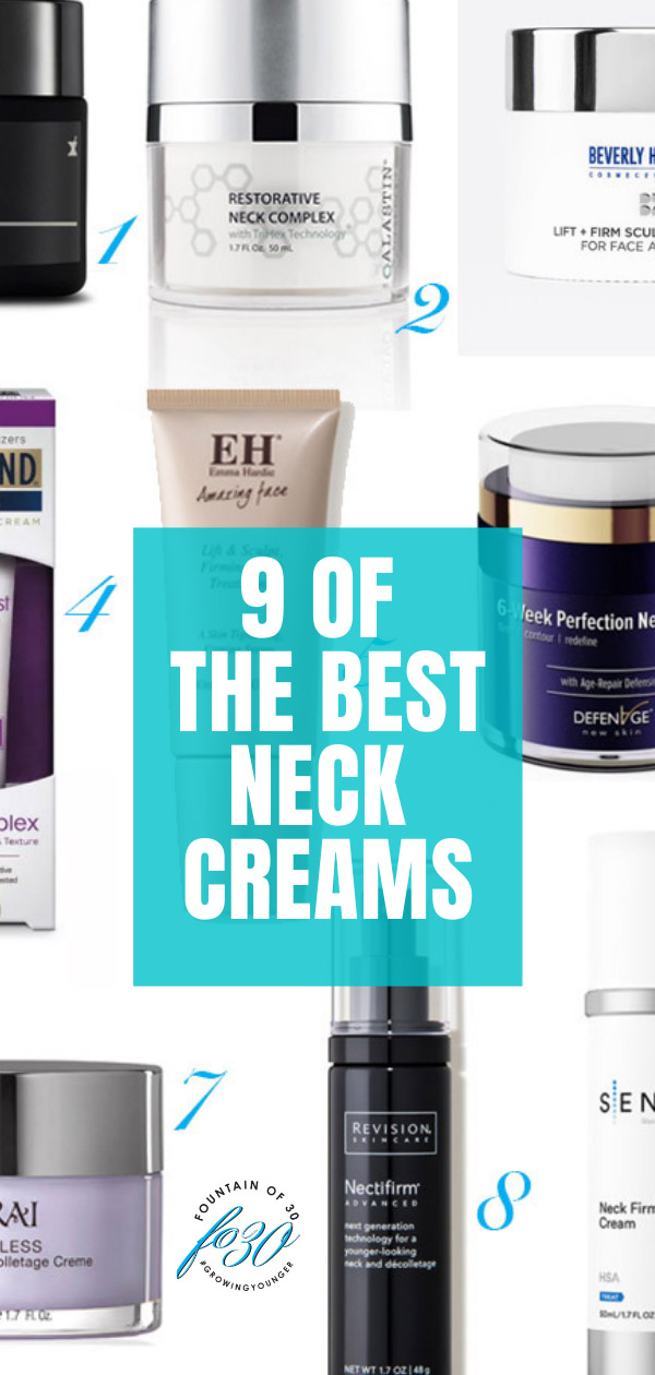 best neck creams fountainof30