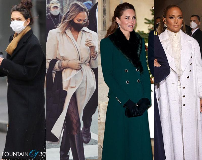 stylish winter coats on celebrities fountainof30