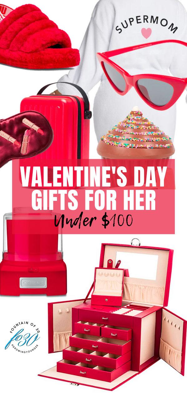 valentines day gifts under 100 fountainof30
