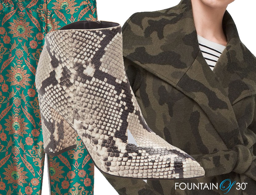 fashion prints patters brocade snake camo fountainof30