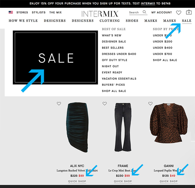 How to Save Money on Fashion sales fountainof30