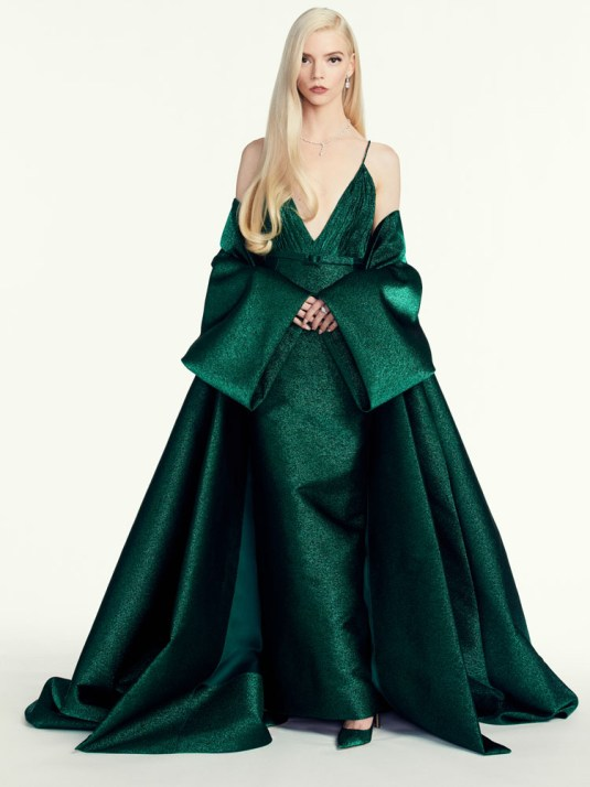 golden globes fashion 2021 best dressed Anya Taylor-Joy in Dior