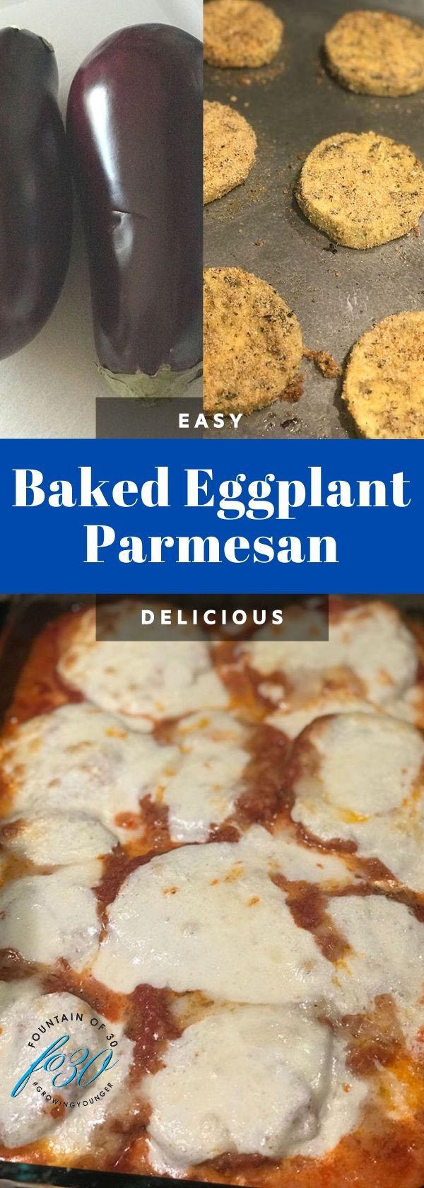 baked eggplant parmesan recipe fountainof30