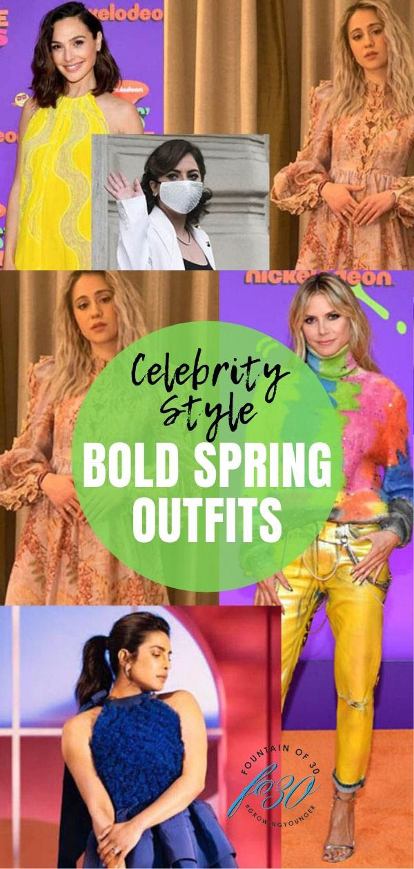 celebrity style spring outfits fountainof30