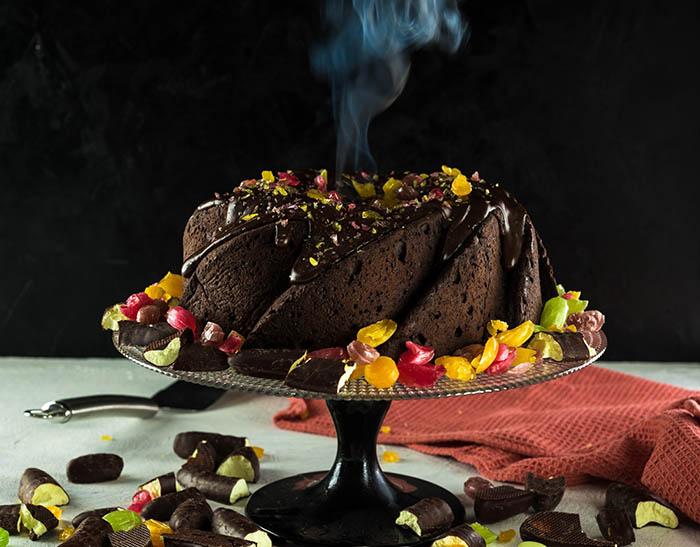 volcano cake smoldering fountainof30