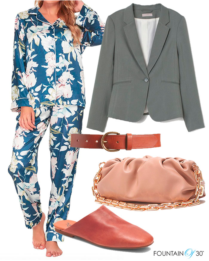 pajamas outfit trend for day fountainof30