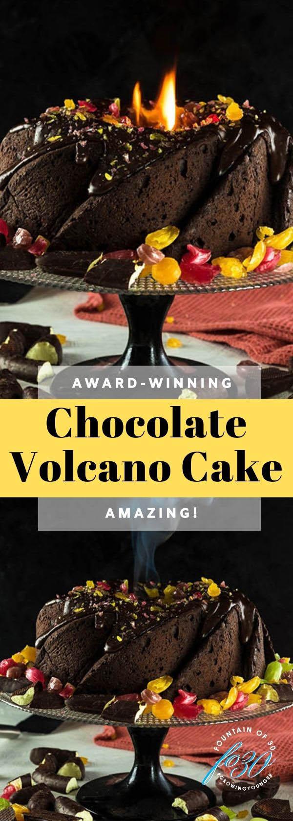 volcano cake recipe fountainof30