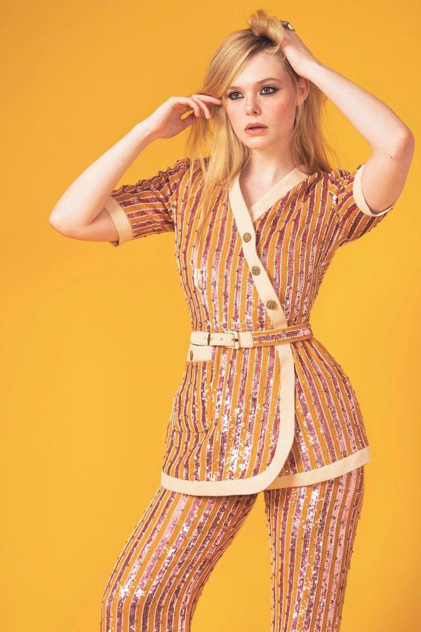 Elle Fanning in Gucci