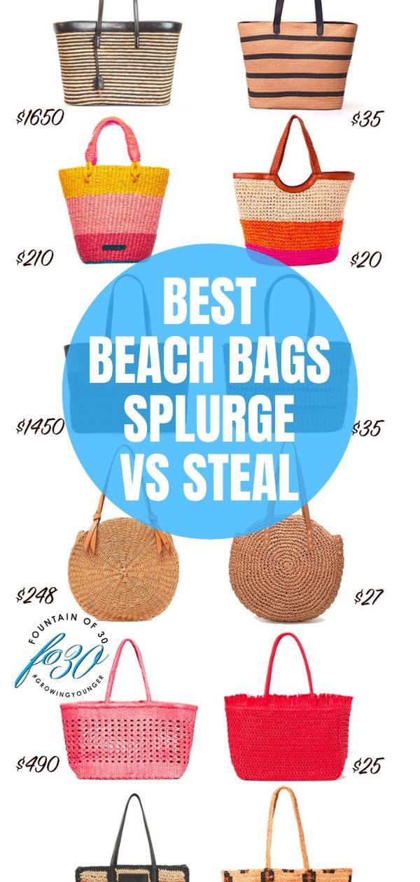 beach bags splurge vs steal fountainof30