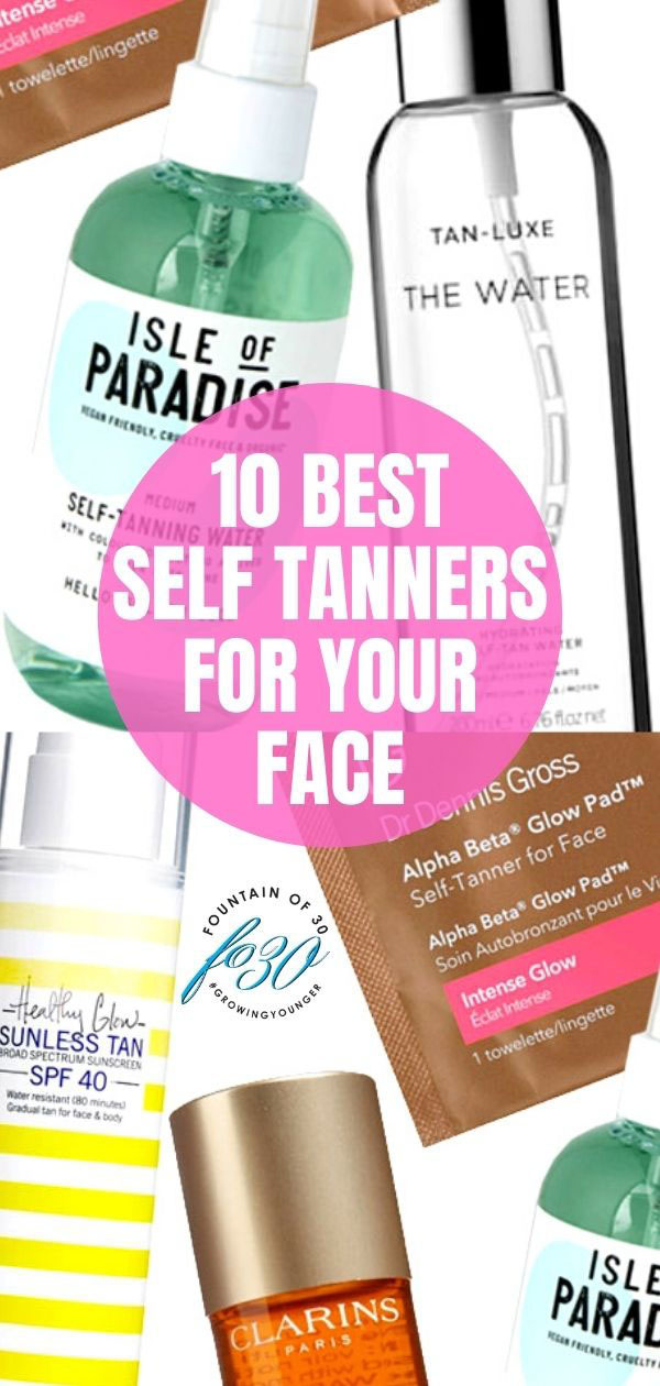 face self tanners fountainof30