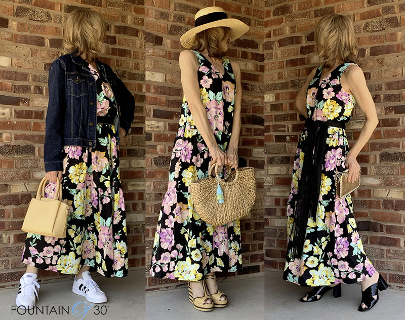3 ways to style one summer dress fountainof30