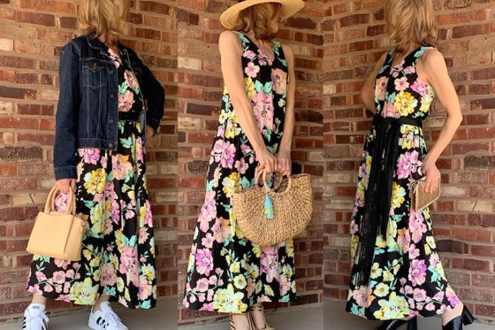 3 Easy Ways To Wear 1 Floral Summer Dress
