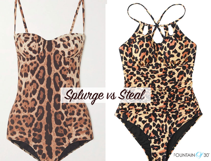 one piece swimsuits splurge or steal fountainof30