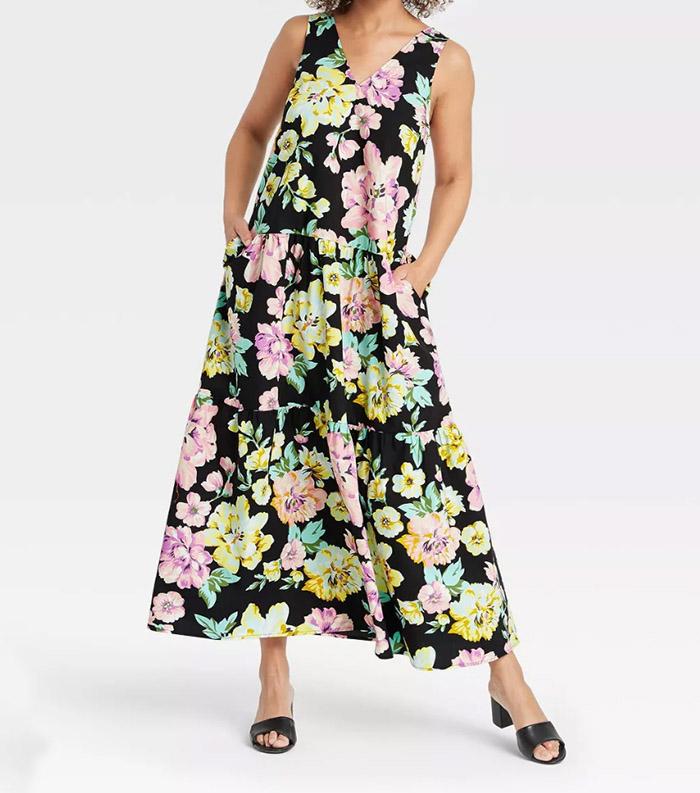 summer floral dress target fountainof30