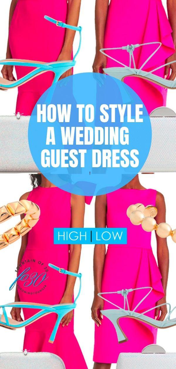 wedding guest dress high low fountainof30